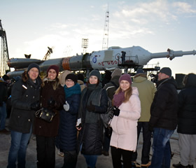 Baikonur space launch tour photos