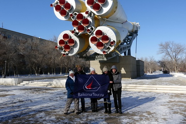 2017-2018 Soyuz MS-07 Baikonur tour photos