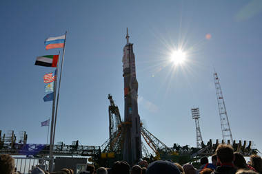 September 2018, Soyuz MS-15 Russia space launch tour